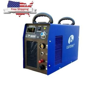 Lotos 60 amp Plasma Cutter With Pilot Arc Automatic Duel Frequency Heavy Duty