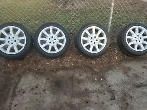 Mercedes Wheels And Tires Used