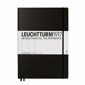 Leuchtturm1917 Classic Large Hardcover Notebook Dotted Black