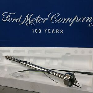 1957 1958 Ford Fairlane And Fairlane 500 Polished Stainless Steering Column