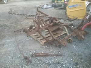 Farmall Sickle Bar Mower International Harvester H M C Mta Super Hay