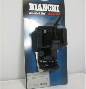 Bianchi 22706 Accumold Elite 7923 Adjustable High Gloss Blk Radio Holder size 1