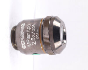 Olympus Mplanapo 2 5x Apo Metallurgical Bx Microscope Objective