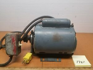 Southbend Lathe Atlas Craftsman Ge 3 4 Hp Electric Motor 1725rpm 115 230v 1ph