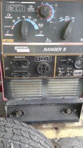 Lincoln Ranger 8 Portable Welder generator