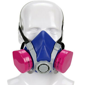Pip Swx00319 Safety Works Half mask Toxic Dust Respirator Box Of6