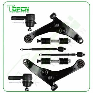 New 8pc Complete Front Suspension Kit Sway Bar For 2002 2006 Mitsubishi Lancer