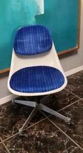Rare Vintage Pscc 4 Office Chair By Charles Ray Eames For Herman Miller