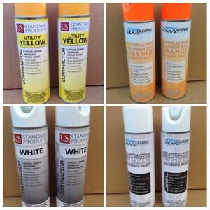 Wholesale Lot Of 550x 17 Oz Inverted Contractor Marking Spray Paint Can Cans