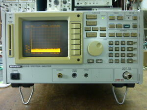 Advantest R3261b 9khz 3 6ghz Spectrum Analyzer With Options In Good Conditions