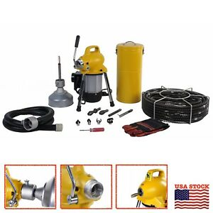 Steel Dragon Tools K50 Drain Cleaning Machine Fits Ridgid Snake Sewer C8 Cable