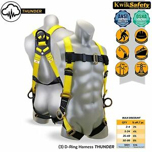 Safety Rope Harness Straps Fall Protection Roofing Security Painter Tower Window