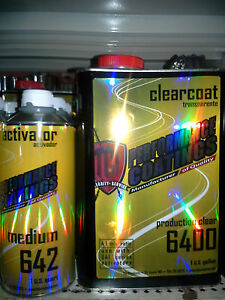Tci Performance Clearcoat Kit 5 Quarts High Gloss Urethane 4 1 Mix Clear Paint