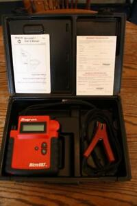 Snap On Microvat Battery Starter Charging System Scan Tool Tester Eecs304