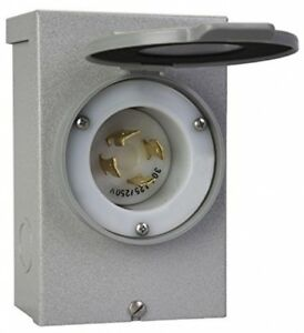 Reliance Controls Corporation Pb30 30 amp Nema 3r Power Inlet Box For Up To