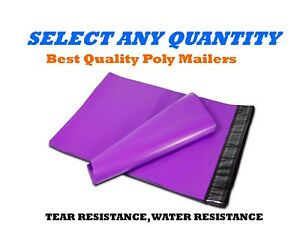 14 5x19 Purple Poly Mailers Shipping Envelopes Self Sealing Mailing Bags 14 x19