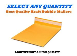 000 4x8 Kraft Bubble Mailers Shipping Mailing Padded Bags Envelopes 4 X 7