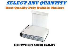 6 12 5x19 Poly Bubble Mailers Shipping Mailing Padded Envelopes Bag 12 5 X 18