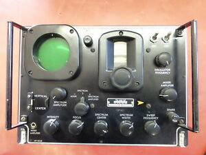 Ts 148 up Military X Band Radar Spectrum Analizer