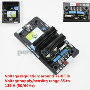 Automatic Voltage Regulator Avr Controls Module Card R250 For Leroy Somer