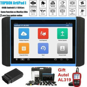 Topdon Artipad I Diagnostic Tool automotive Scanner Ecu Coding Programming al319