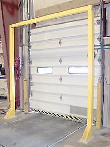 Economical Overhead Door Warning Barrier Hdwb 1010 Usable Size W X H 10 X 10