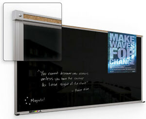 Balt 14803 Framed Magnetic Glass Dry Erase Whiteboard