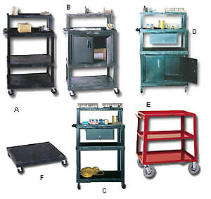 Multishelf Steel Carts With Doors And Without Doors Hwtim Product No A Ltr