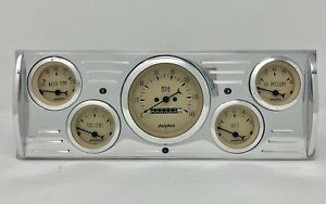 1941 1942 1943 1944 1945 1946 Chevy Truck 5 Gauge Dash Cluster Tan