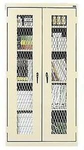 Economy Storage Cabinets With Expanded Metal Doors Exp mtc 362472 W X D X H 3