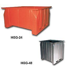 Pallet Containers Hgg 24 Dimensions L X W X H in 47 X 42 X 24 Wt lbs