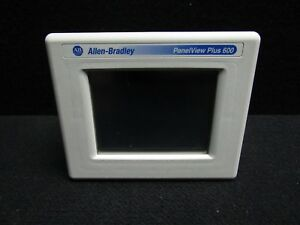 Allen Bradley Panelview Plus 600 2711 t6c20d Ser D Touch Panel