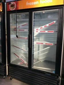 True Gdm 49f Two Glass Swing Door Freezer
