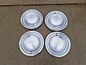 oem 1961 Lincoln Continental Wheel Covers Hub Caps