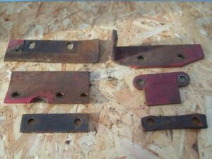 Ford 501 Sickle Bar Hay Mower Lot Of 6 Wear Guides And Shims Free Shipping