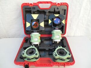 Leica Professional Traverse Kit With Snll121 Laser For Total Station Surveying