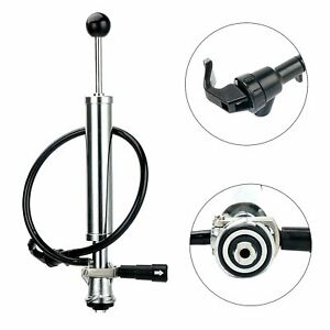 8 sankey D System Beer Party Hand Pump Keg Tap For Kegerator Short Lever Handle