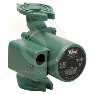 Taco 007 f5 Flanged Circulator Pump 115v 1 25 Hp Cast Iron