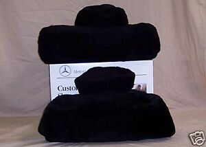 Mbz Tailormade Sheepskin Seat Covers For E Class 210 Chassis One Pair 4 Colors