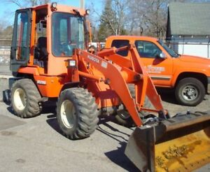 Used Kubota R520 Articulated Wheel Loader Ready To Work