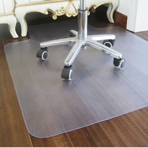 Desk Chair Floor Mat Carpet Protector Hard Plastic Rug Pvc Computer Home Office
