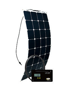 100 Watt 5 62 Amp Solar Kit With Gp pwm 30 Digital Controller