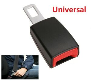 Universal Car Safety Seat Belt Buckle Extension Extender Clip Alarm Stopper