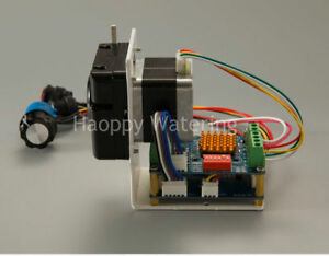 12v 24vdc Stepper Motor Flow Adjustable Peristaltic Pump Self priming adapter