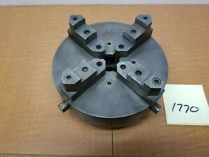 Hendey Lathe 12 7 4jaw Chuck Independent Or Synchronized Jaws Mint Antique