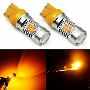 Jdm Astar Extremely Bright Px Chipsets 7440 7441 7443 7444 Led Bulbs Amber Ye