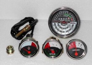 John Deere Tractor Tachometer temp Fuel Amp Gauge Set For 1010 2010 New
