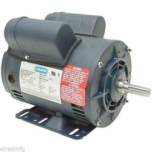 5hp Spl Leeson Electric Motor Replaces Century B385 5hp 1 phase 230v 3450rpm