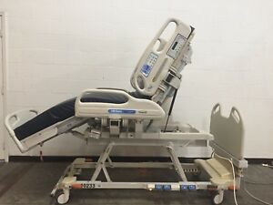 Hill rom Versacare P3200 Icu Bed W Scale Fracture Frame Adapter