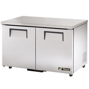 True Tuc 48f hc Commercial Undercounter Solid Door Freezer